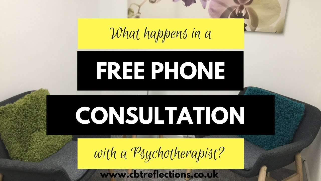FREE Consultation With A Psychotherapist What Happens