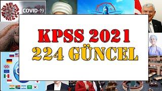 KPSS 2020 GÜNCEL BİLGİLER ( EN YENİ) 🎯 NOKTA ATIŞI SORULAR