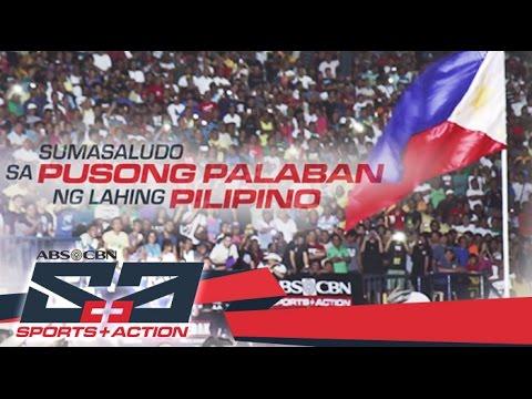 Amazing Pusong Palaban Ng Lahing Pilipino   ABS CBN Sports And Action 2016 Station  ID   YouTube