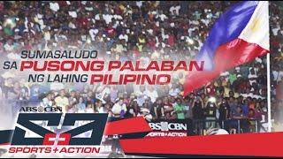 Pusong palaban ng lahing Pilipino | ABS-CBN Sports And Action 2016 Station ID