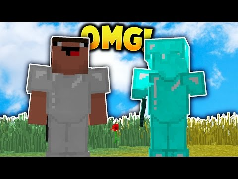 WE BECOME FRIENDS?! - Minecraft Invisible Trolling!