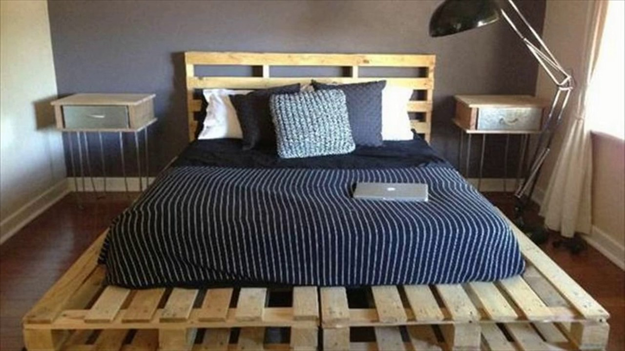 Delightful Pallet Bed Ideas On A Budget