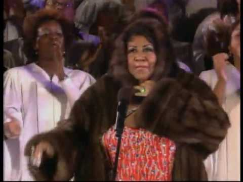 Aretha franklin Christmas Joy to the world - YouTube