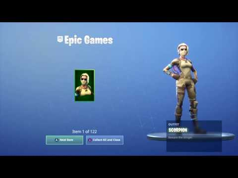 """Fortnite - Receiving my"""" Account merge"""" Items 3 MORE REFUNDS UNLOCKED!"""