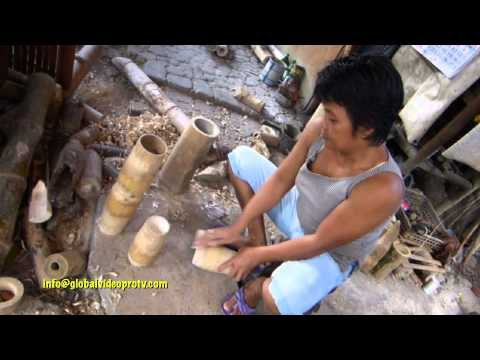 HOW TO MAKE EXOTIC BAMBOO FURNITURE. LIFESTYLE, CEBU PHILIPPINES