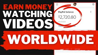 How To Make Money Online Watching YouTube Videos (2021)