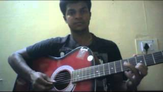 Raah mein unse mulaqat guitar lead - hindi song