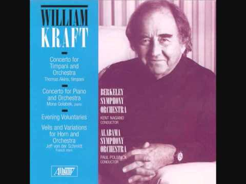 WILLIAM KRAFT: Tympani Concerto- Movement III