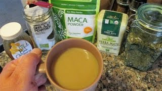 My Favorite Morning Tea Recipe | Coffee Alternative | Yerba Mate