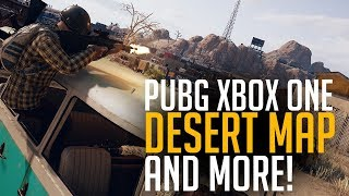 PUBG Xbox One - Desert Map and Improvements! (Playerunknown's Battlegrounds)