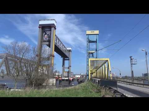 Hamburg: Exkursion zur Baustelle der neuen Kattwykbrücke
