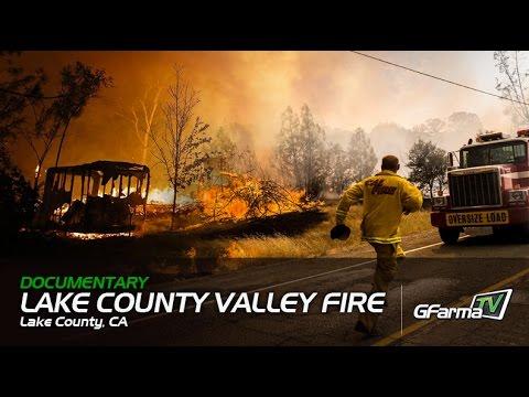 G FarmaTV documents the aftermath of the Lake County Valley Fires