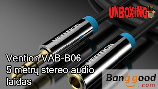 Vention VAB-B06 3.5mm Jack Male to Female Audio Extension Cable / BANGGOOD.COM