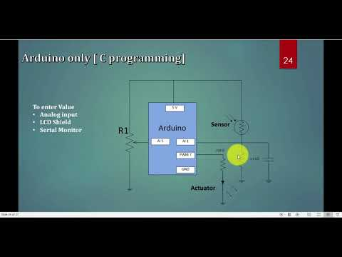 Control Strategies in Process Control (Manual Arduino C only) Part 10