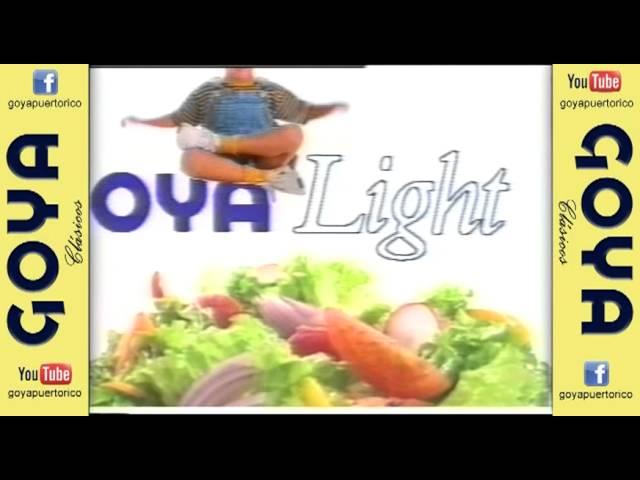 Clasico Aceite de Oliva Goya Light (90's)