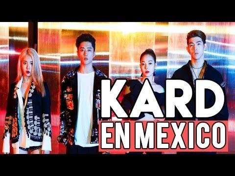 KARD En México // Conciertos de KPOP en México // Shiro No Yume