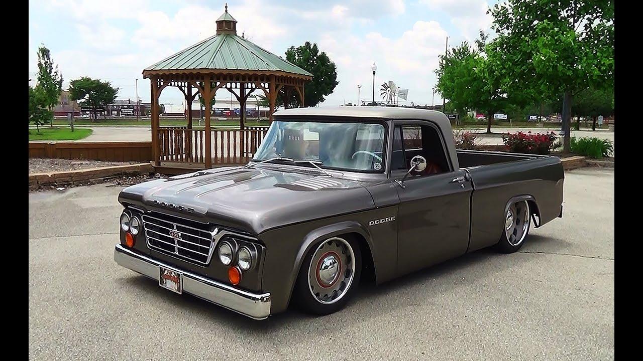 1965 Dodge D100 Sweptline Goodguy's Indy Nationals 2015 ...