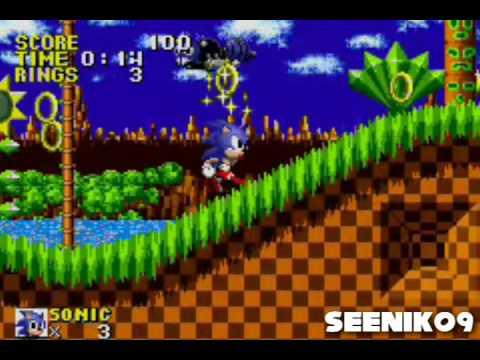 Sonic The Hedgehog Genesis Gba Playthrough Part 1 Youtube