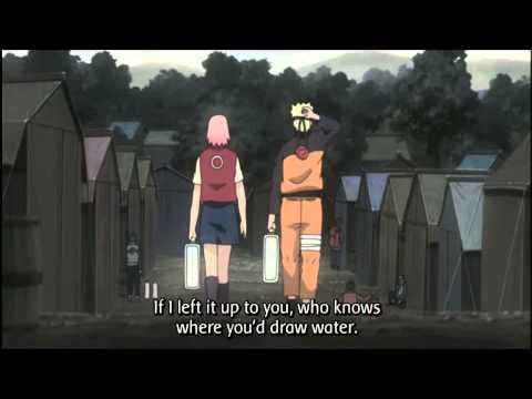 (NaruSaku Moment) Sakura flirts with Naruto