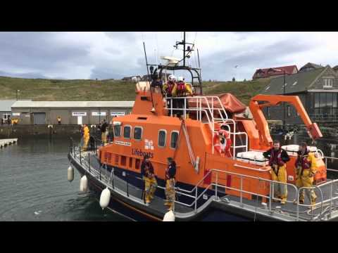 Buckie Fraserburgh & Macduff lifeboats