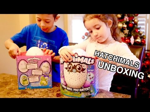 HATCHIMALS UNBOXING ( EPIC )
