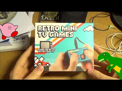 Retro Mini TV Games - Unboxing and Review (200 games plug and play)