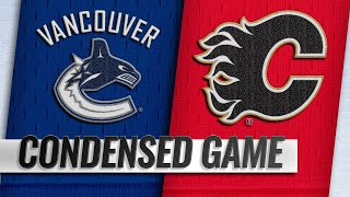 10/06/18 Condensed Game: Canucks @ Flames