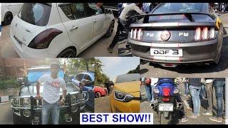 Drag Racing, Bike Stunts, DTU Shakedown 2017Event[mustang,bentley,jaguar,audi,bmw,hayabusa,benelli]