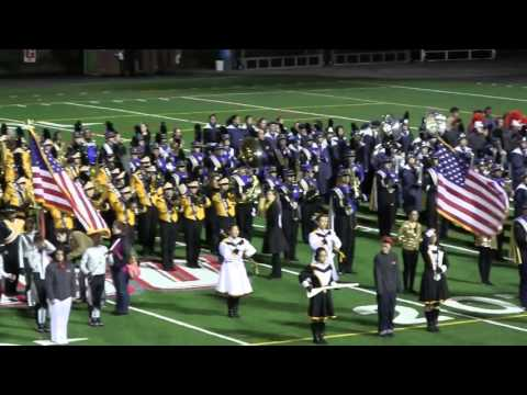 Montclair State 2015 - Massing of the Bands
