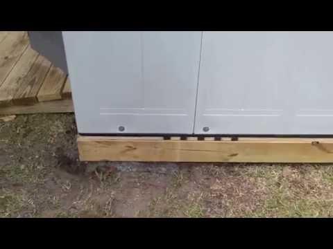 Orlando's Handyman install's 8'x 10' Suncast Tremont Shed