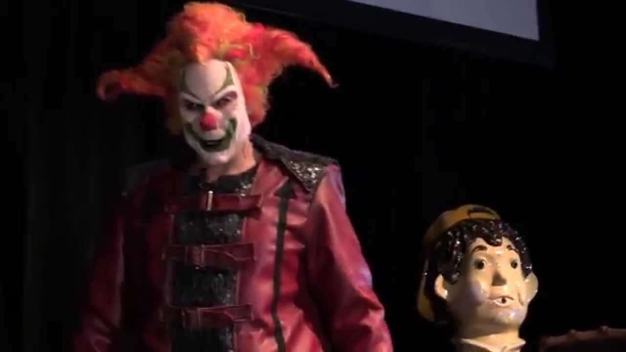 halloween horror nights 25 jack the clown is back youtube