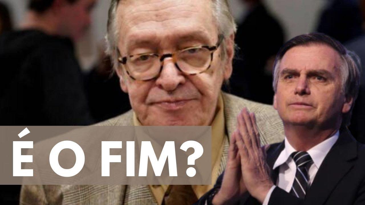 Olavo rompeu com Bolsonaro?