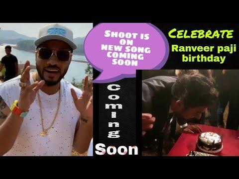 Raftaar On Shoot New Song Coming Soon|Celebrate Ranveer Paji Birthday{chittha Khol Updates}