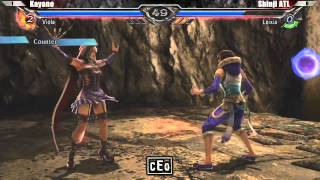 CEO 2012 Soul Calibur V Losers Finals : Kayane (Viola) VS Shinji (Leixia)