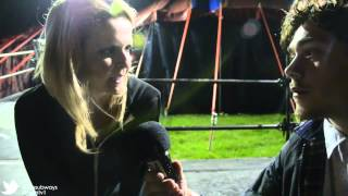 ,MTM.tv - Interviews - Charlotte Cooper from The Subways - Leeds Festival 2012 -