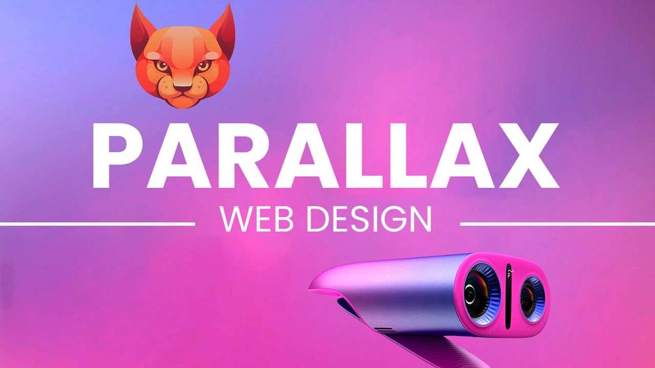 Truly Parallax Website Design with Amazing Scrolling Effect using HTML CSS JS