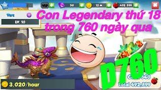 Dragon mania legends Boss Đảo Rồng Huyền Thoại ngày 760