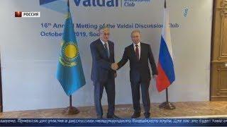 Президент Казахстана поднялся на высоту 1400 метров