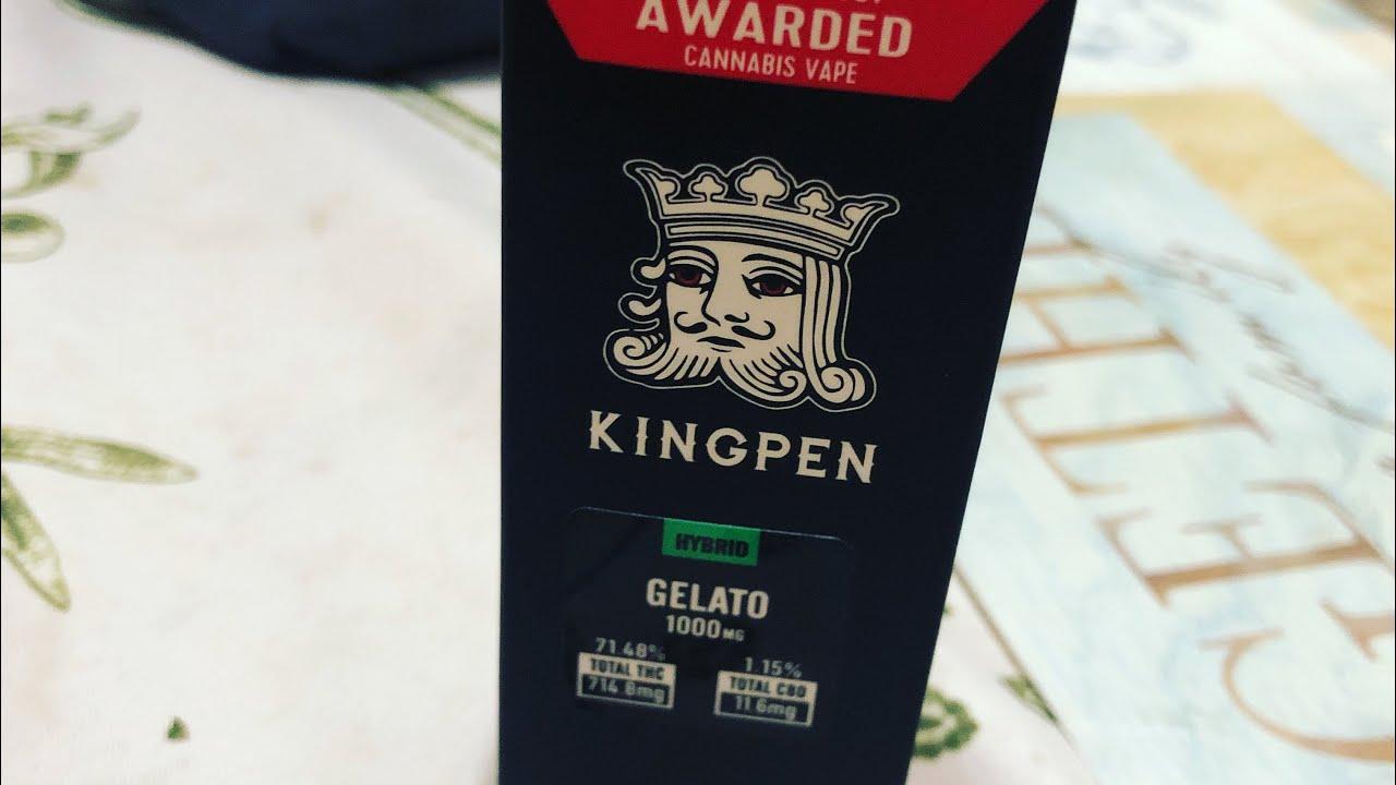 King Pen - Gelato Review #realkingpen #lookoutforfakes