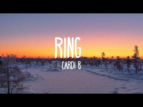 Cardi B - Ring ft. Kehlani (Lyrics)
