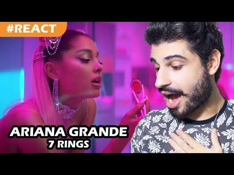 Ariana Grande - 7 rings REACT  Reação e comentários