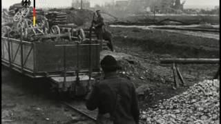 Узкоколейная железная дорога на западном фронте - 1918 год.