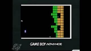 Atari Anniversary Advance Game Boy Gameplay - Super Breakout