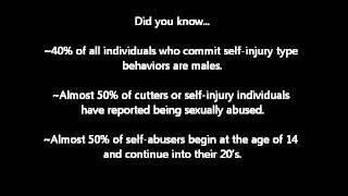 Self-Harm Awareness Day 2013-Megan's Story