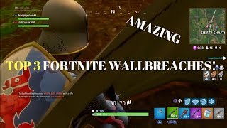 FORTNITE GLITCHES: 3 *INSANE* WALL BREACHES INSIDE OF TREES GLITCH SPOTS GODMODE! GET LOOT EASILY
