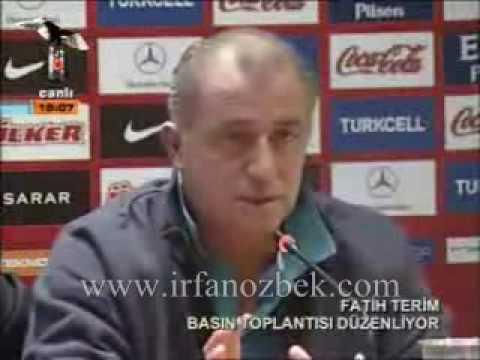 Fatih Terim - İngilizce 3'Ü BİR ARADA !!!