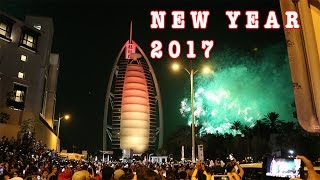 New Year 2017 Celebrations at Burj Al Arab (Dubai)