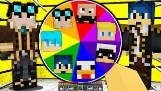 NON GIRARE LA RUOTA DEGLI YOUTUBER MASCHI - Minecraft ITA