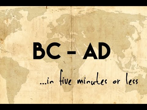 BC and  AD.in five minutes or less
