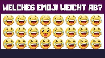 Nur ein Genie findet alle Fehler! (Emoji Challenge)